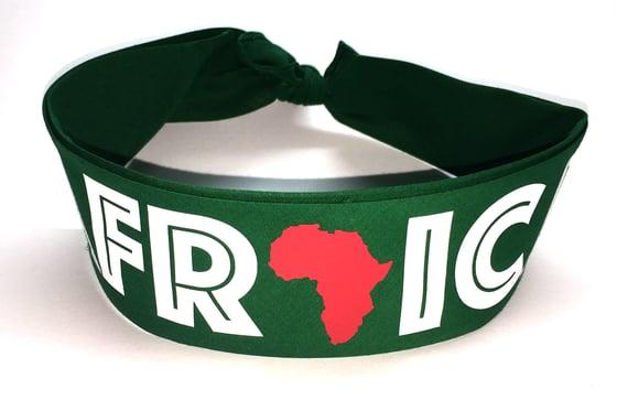 Image of World Tour Africa Bandana Dark Green