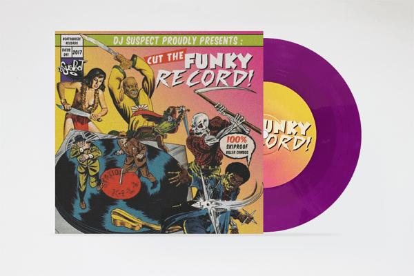 "Image of Cut The Funky Record - 7"" Purple Vinyl (DJ Suspect)"