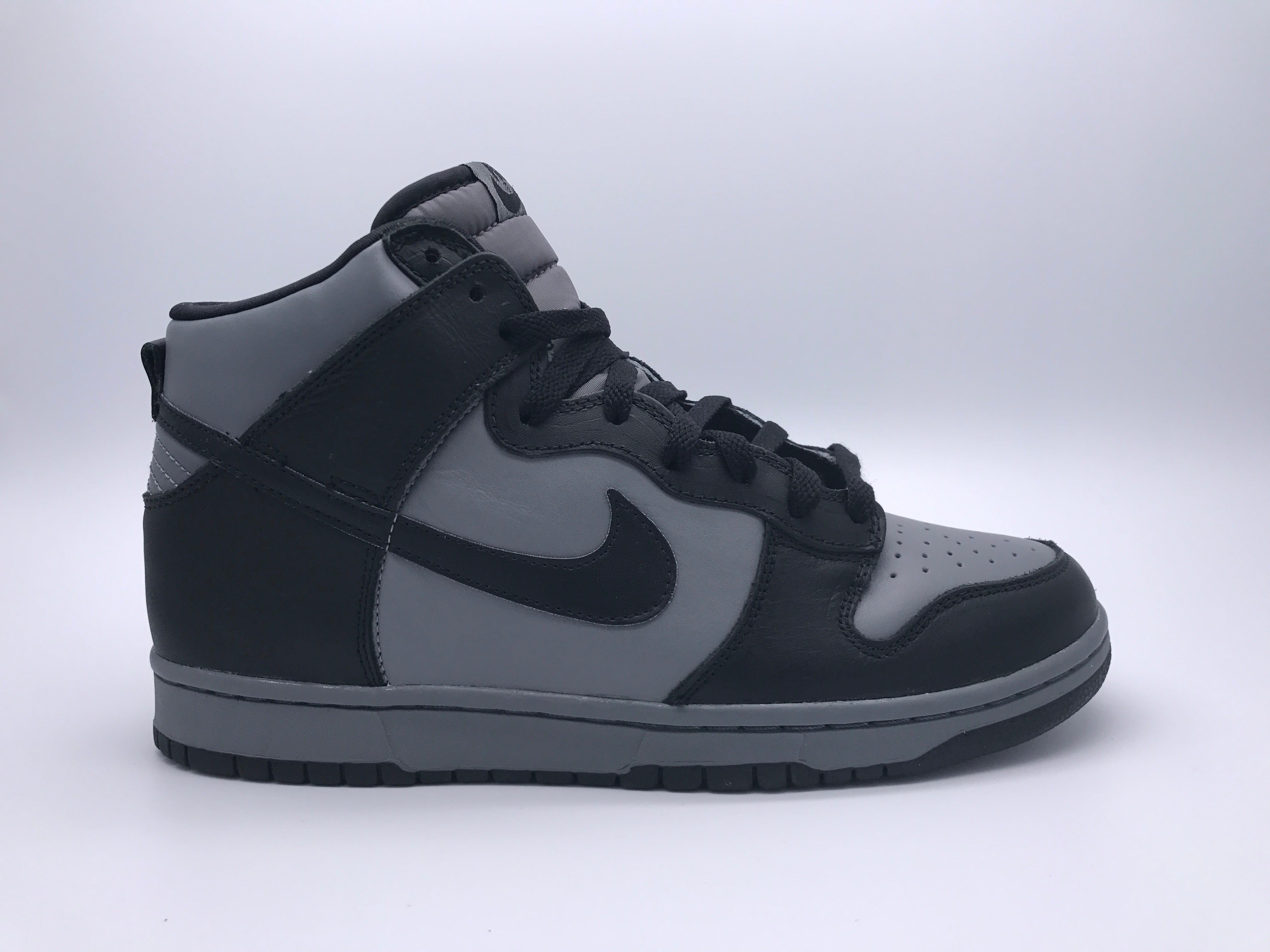 Black And White High Top Nike Dunks | International College