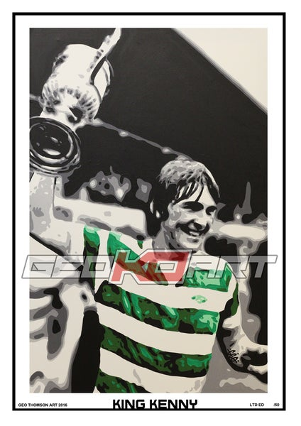 Image of KING KENNY DALGLISH