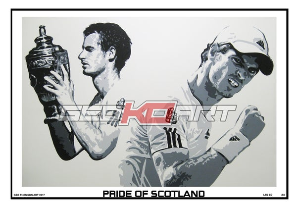 Image of PRIDE OF SCOTLAND - ANDY MURRAY
