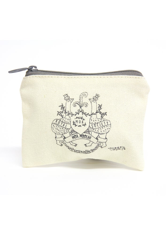 Image of Royal Moa Society Money Pouch - Moa Moolah
