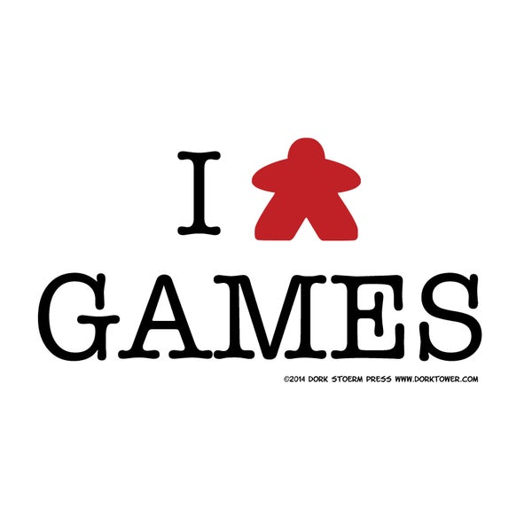 Image of I Meeple Games Print