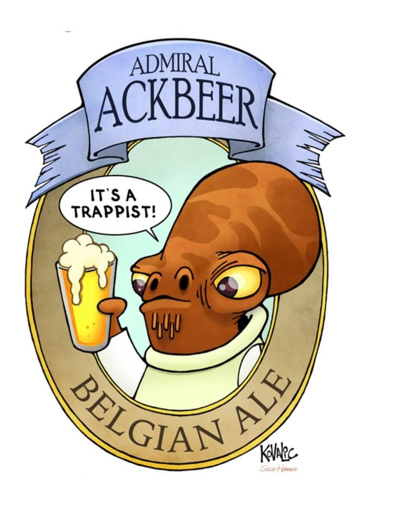 Image of Admiral Ackbeer Print