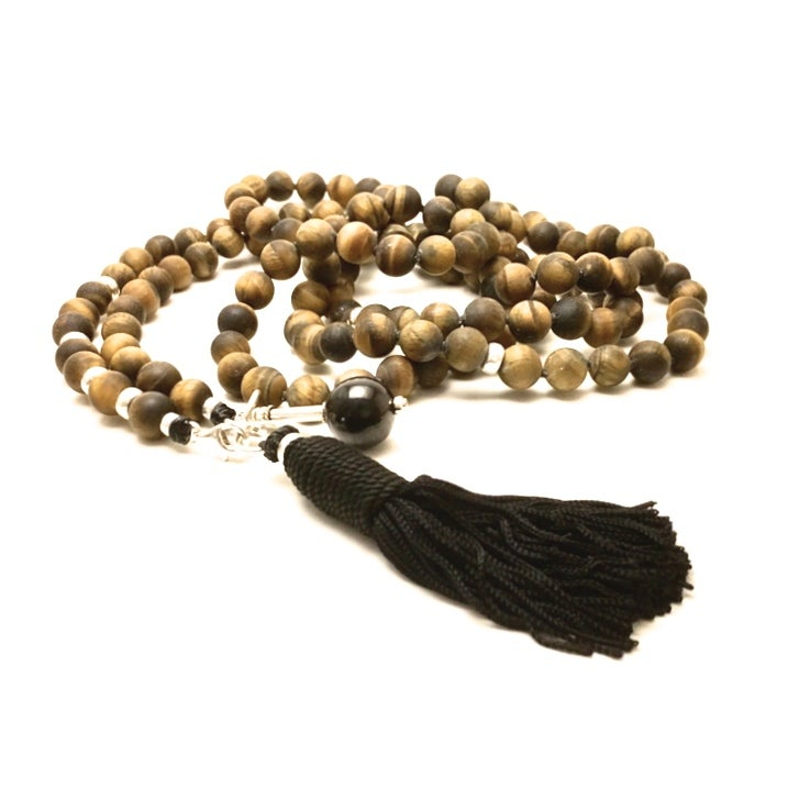 Image of Infinite Journey Raw Tigers Eye Mala