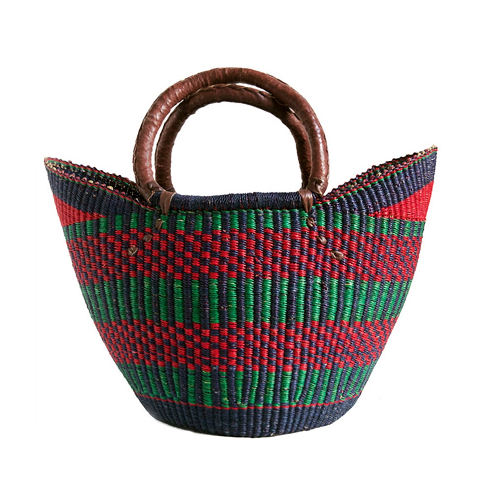 Image of U-Shopper Bolga Basket NO. 02