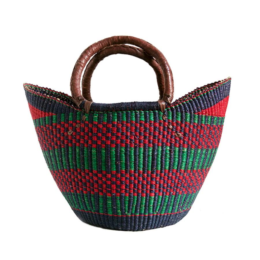 Image of U-Shopper Bolga Basket NO. 02