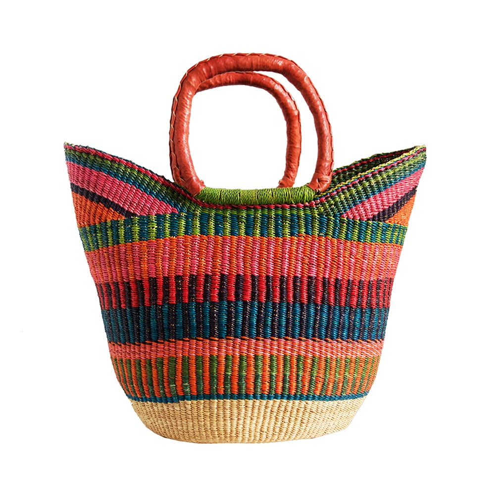Image of U-Shopper Bolga Basket NO. 01