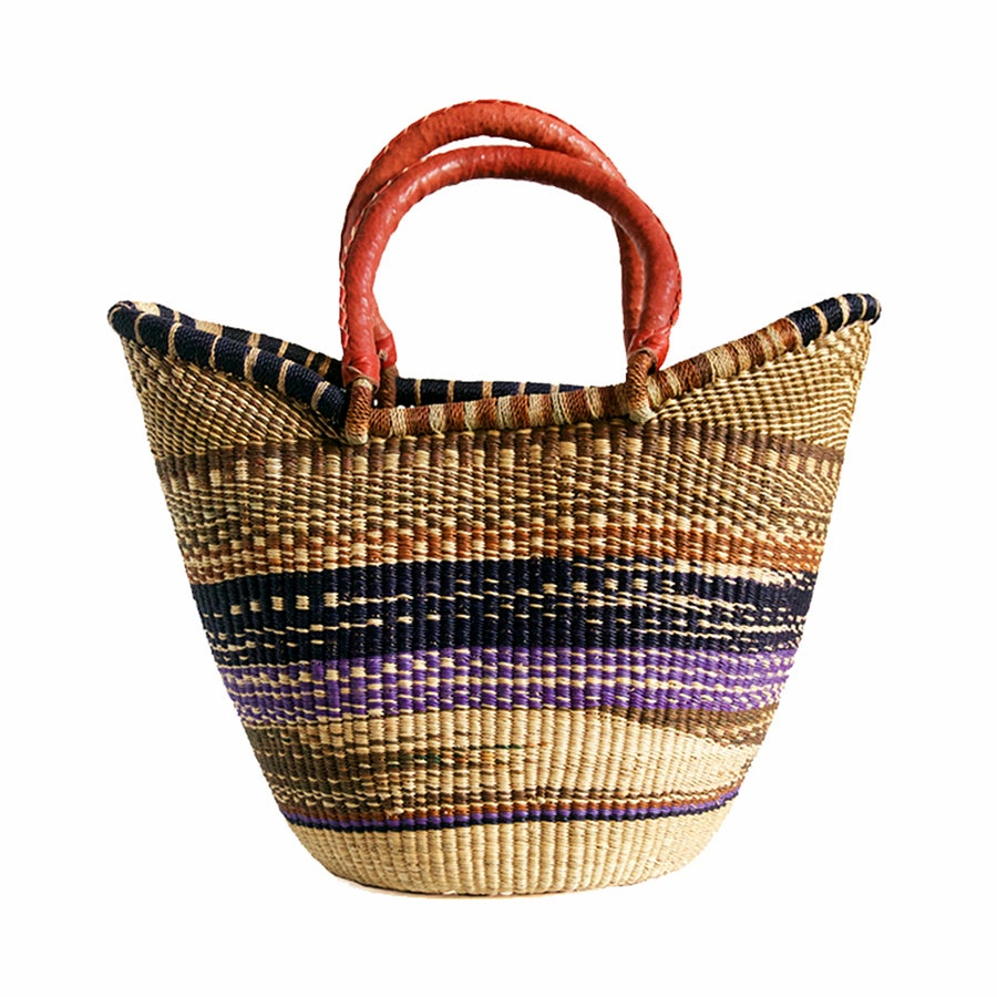 Image of U-Shopper Bolga Basket NO. 05