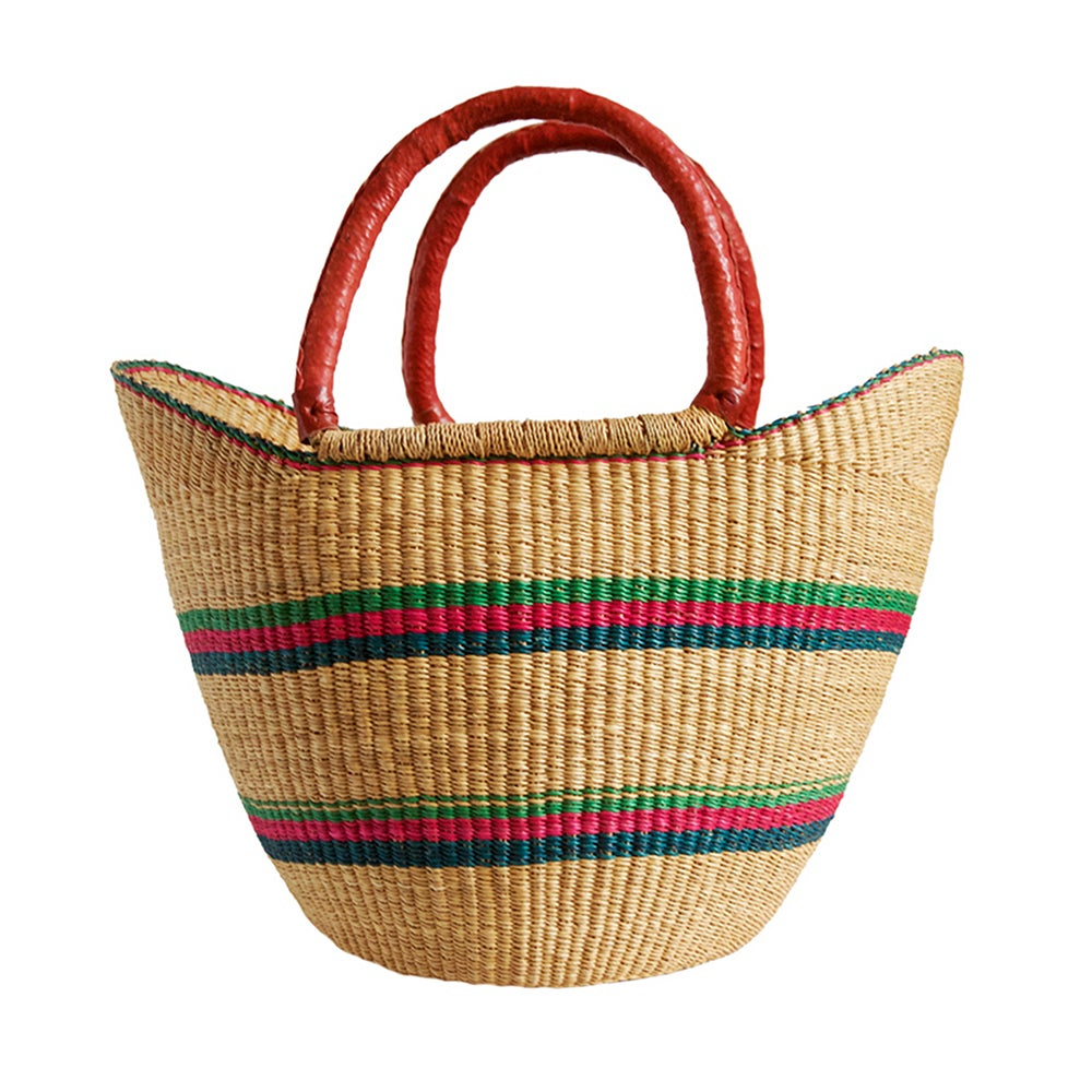 Image of U-Shopper Bolga Basket NO. 03