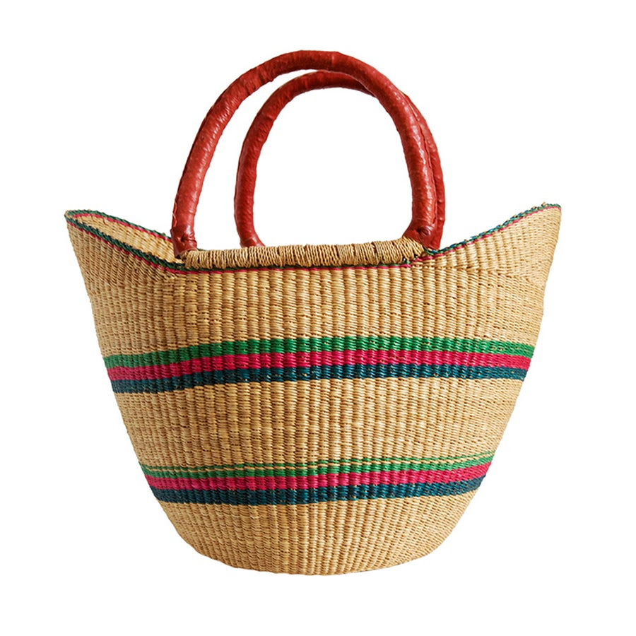 Image of U-Shopper Bolga Basket NO. 03