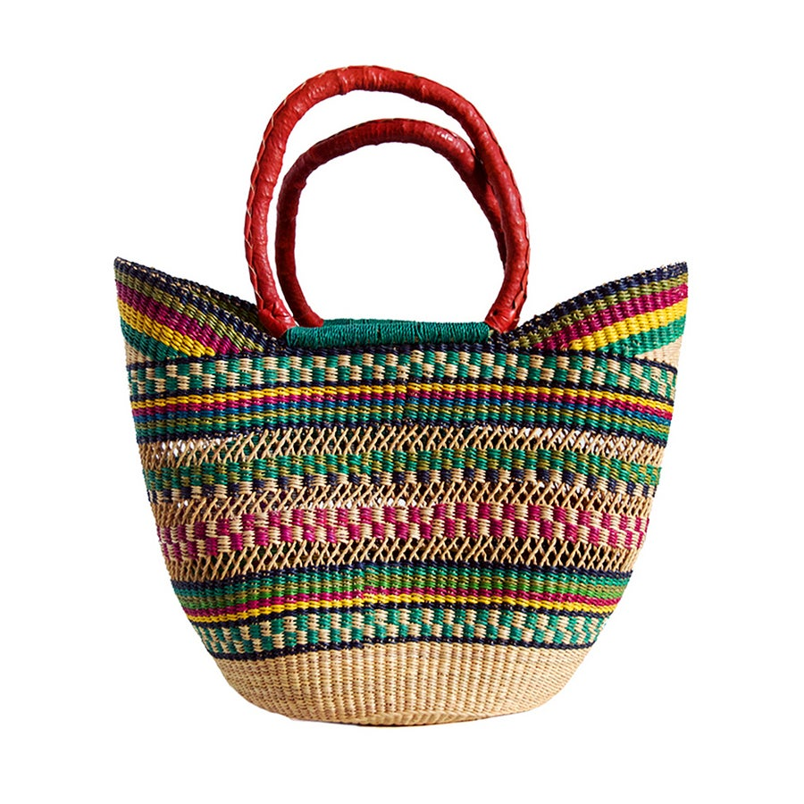 Image of U-Shopper Bolga Basket NO. 04