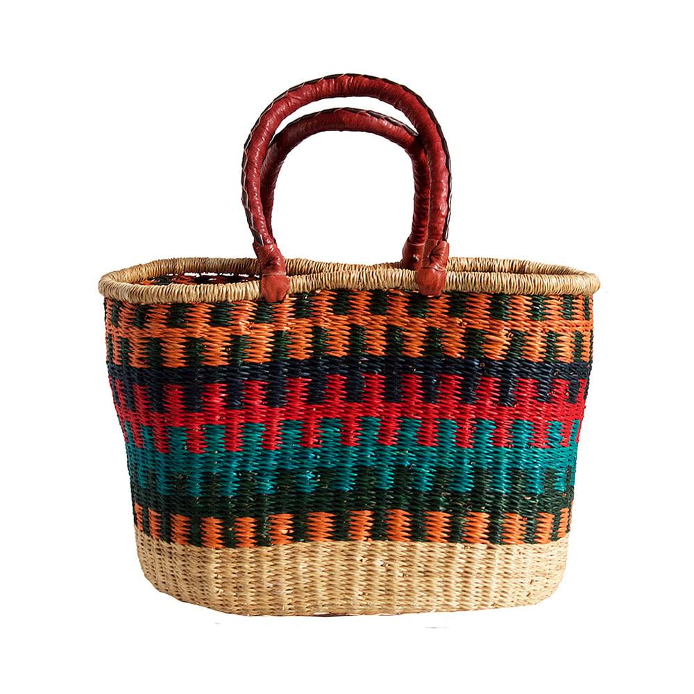 Image of Oval Bolga Basket NO. 05