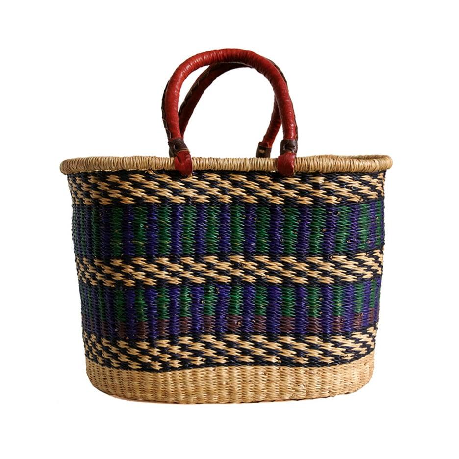 Image of Oval Bolga Basket NO. 01