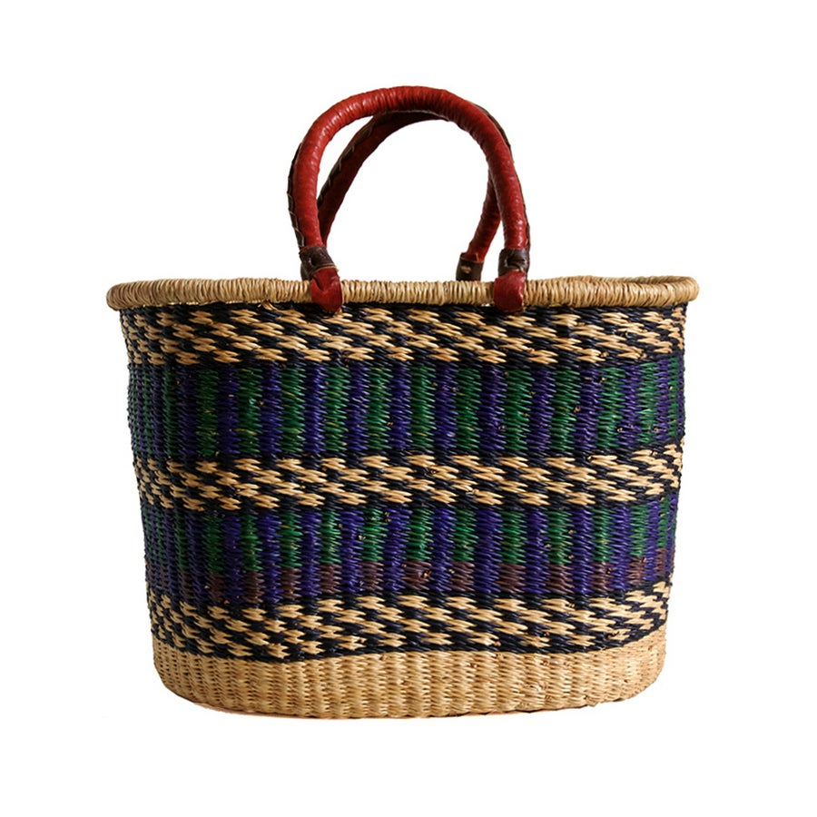 Image of Oval Bolga Basket NO. 01