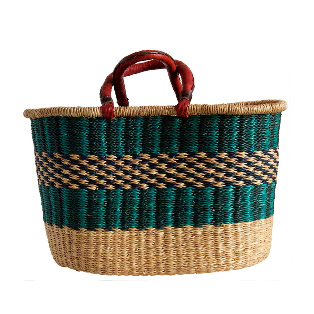 Image of Oval Bolga Basket NO. 04