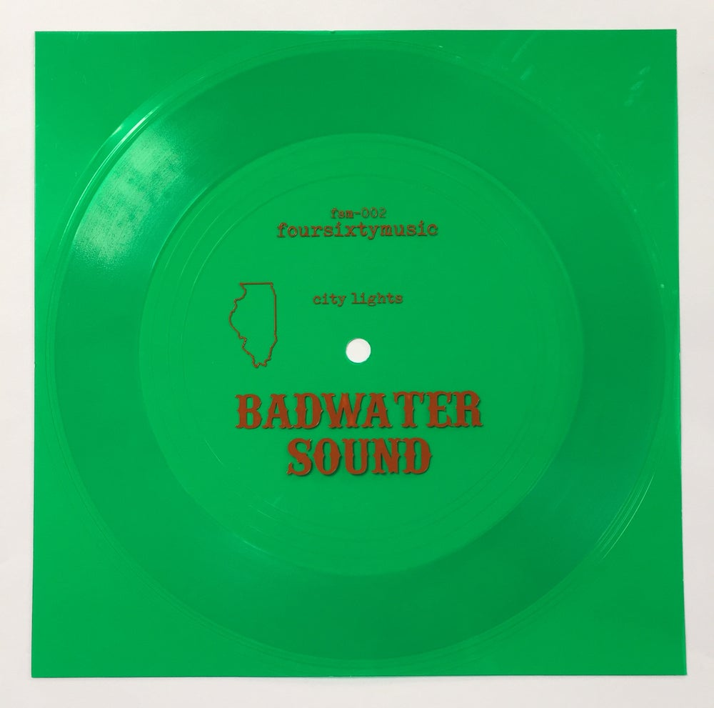"""Image of Badwater Sound 'City Lights' 7"""" flexi"""