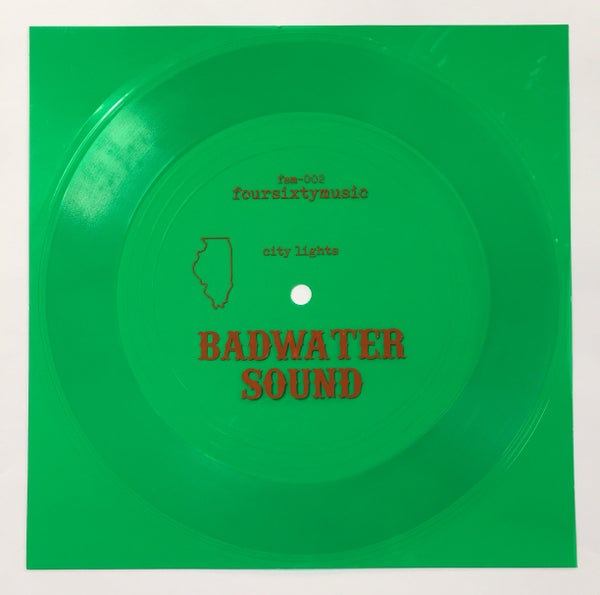 "Image of Badwater Sound 'City Lights' 7"" flexi"