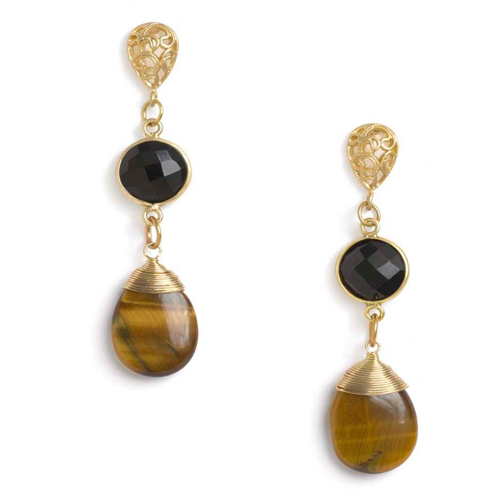 Image of EARTHY GLAM EARRINGS