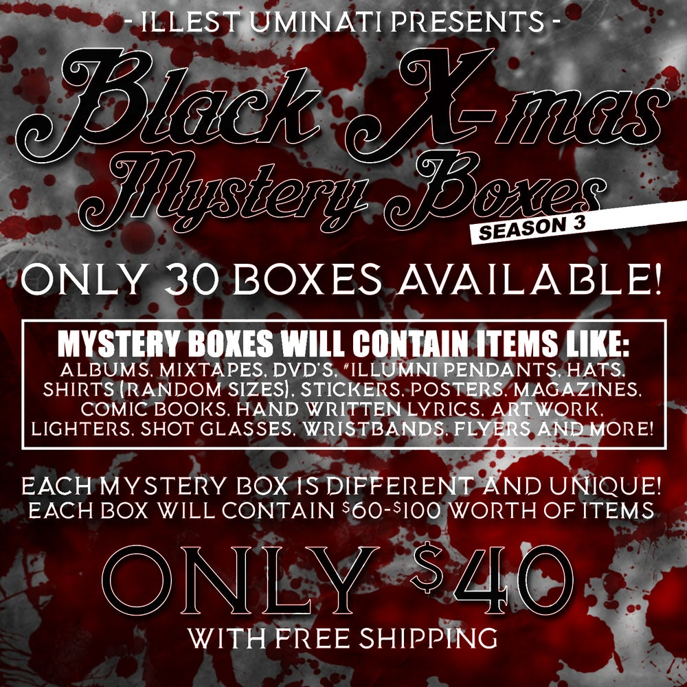 Image of Black X-Mas Mystery Boxes