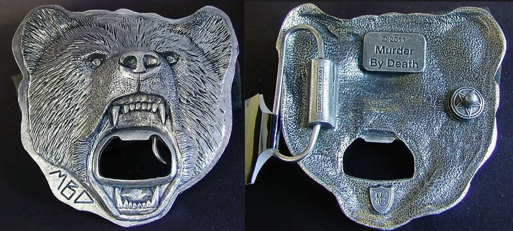 Image of Belt Buckle w/ Beer Bottle Opener