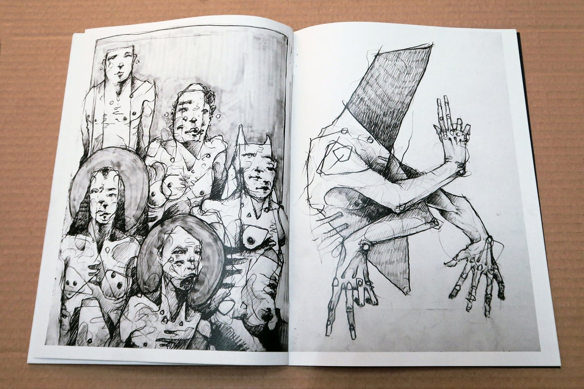 Image of Sketchbook Publication. 2015-17
