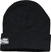 Image of SK8RATS Patch Beanie Black