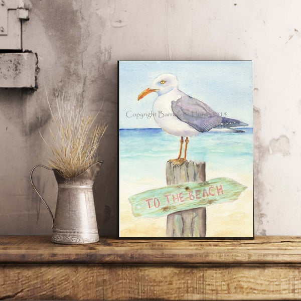 Image of SEAGULL, FINE ART PRINTS