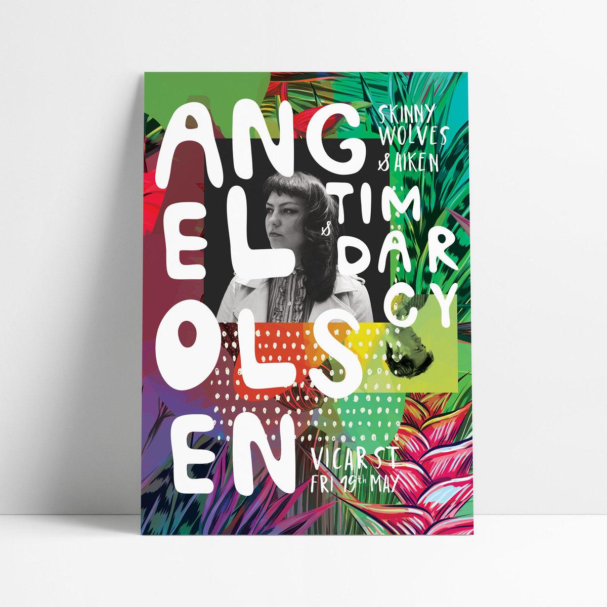 Image of ANGEL OLSEN / Tim Darcy - Live at Vicar St