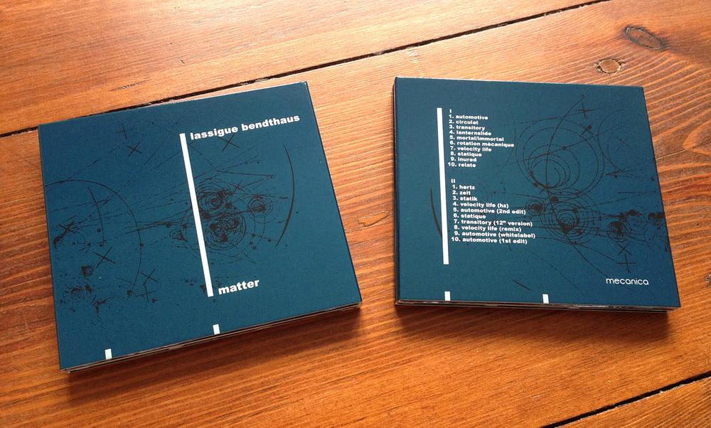 Image of Lassigue Bendthaus - Matter 2CD