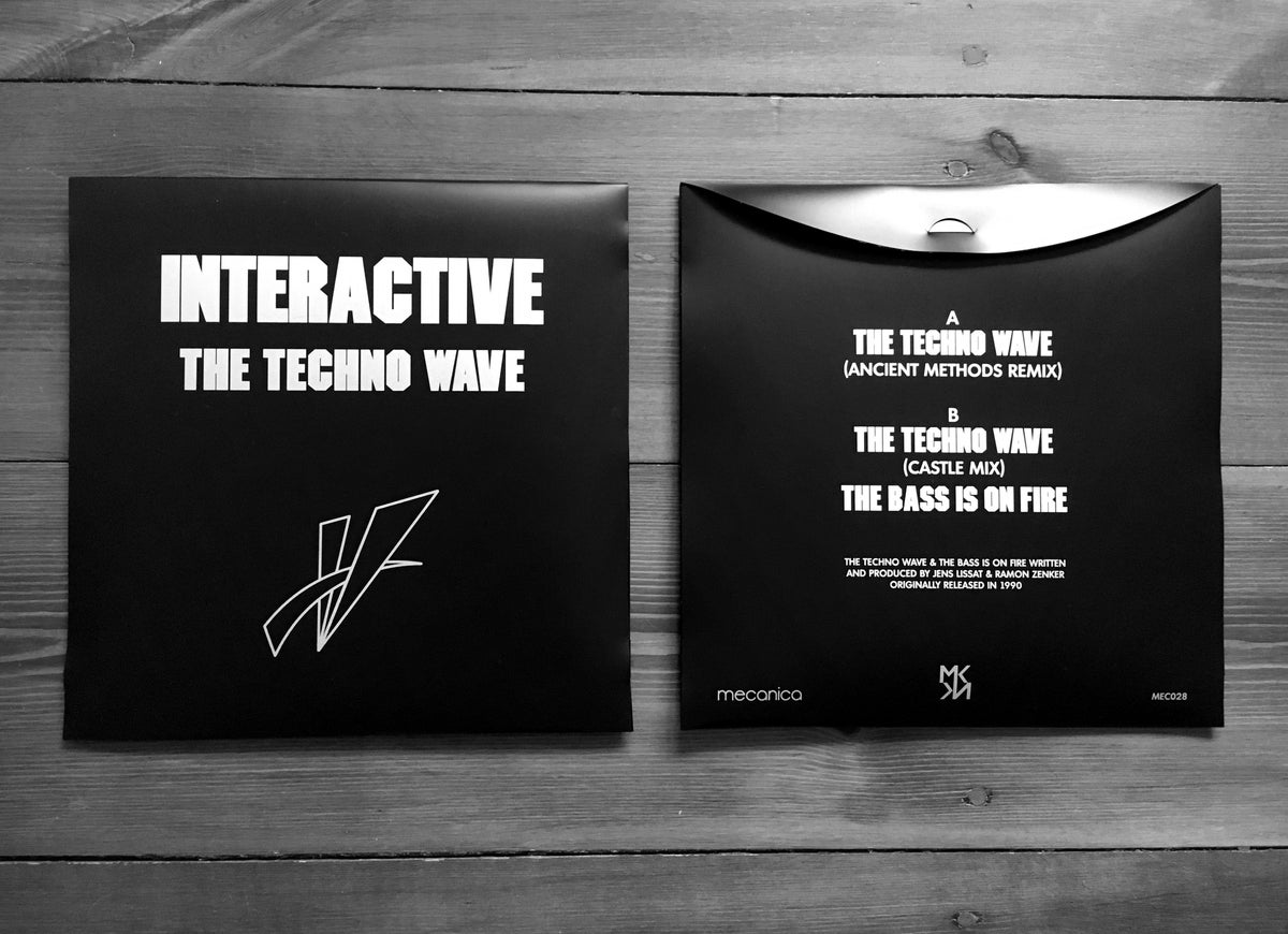 Image of Interactive - The Techno Wave 12""