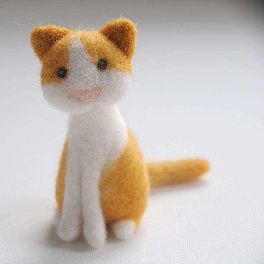 Kitty Cat - Needle Felting Kit
