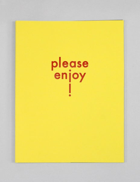 Image of Please Enjoy! by Sun You