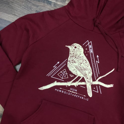 "Image of ""Thrush"" Ladies Lightweight Hoodie"