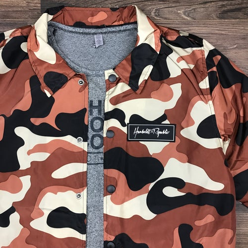 "Image of ""Bengal"" Men's Camouflage Windbreaker Jacket"