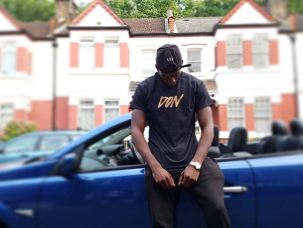 Image of Gold Print fitted DON T-shirt - Unisex