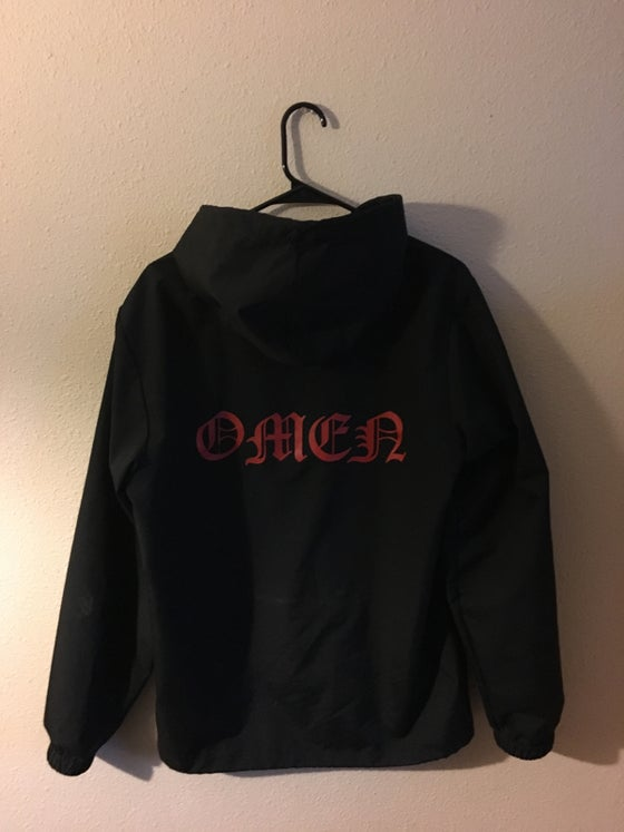 Image of LOGO HOODED COACHES JACKET