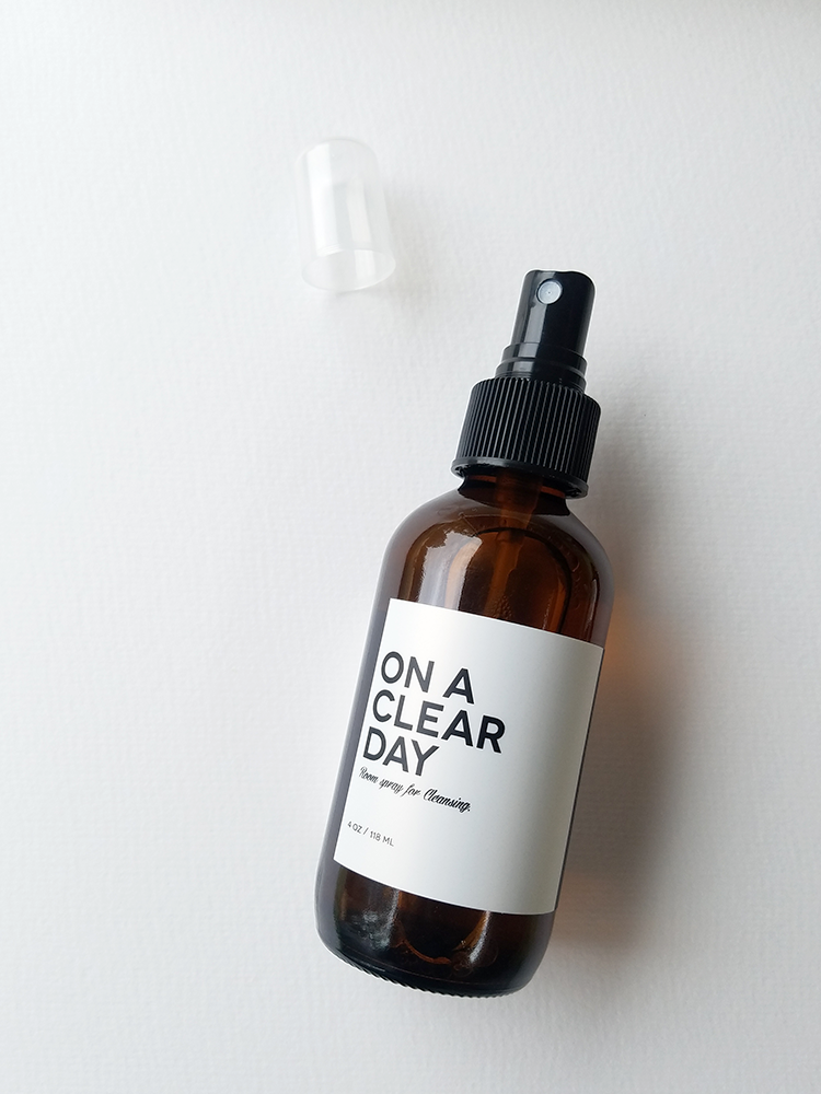 ON A CLEAR DAY, Aromatic spray for Cleansing