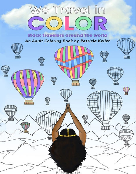 Image of We Travel in Color adult coloring book