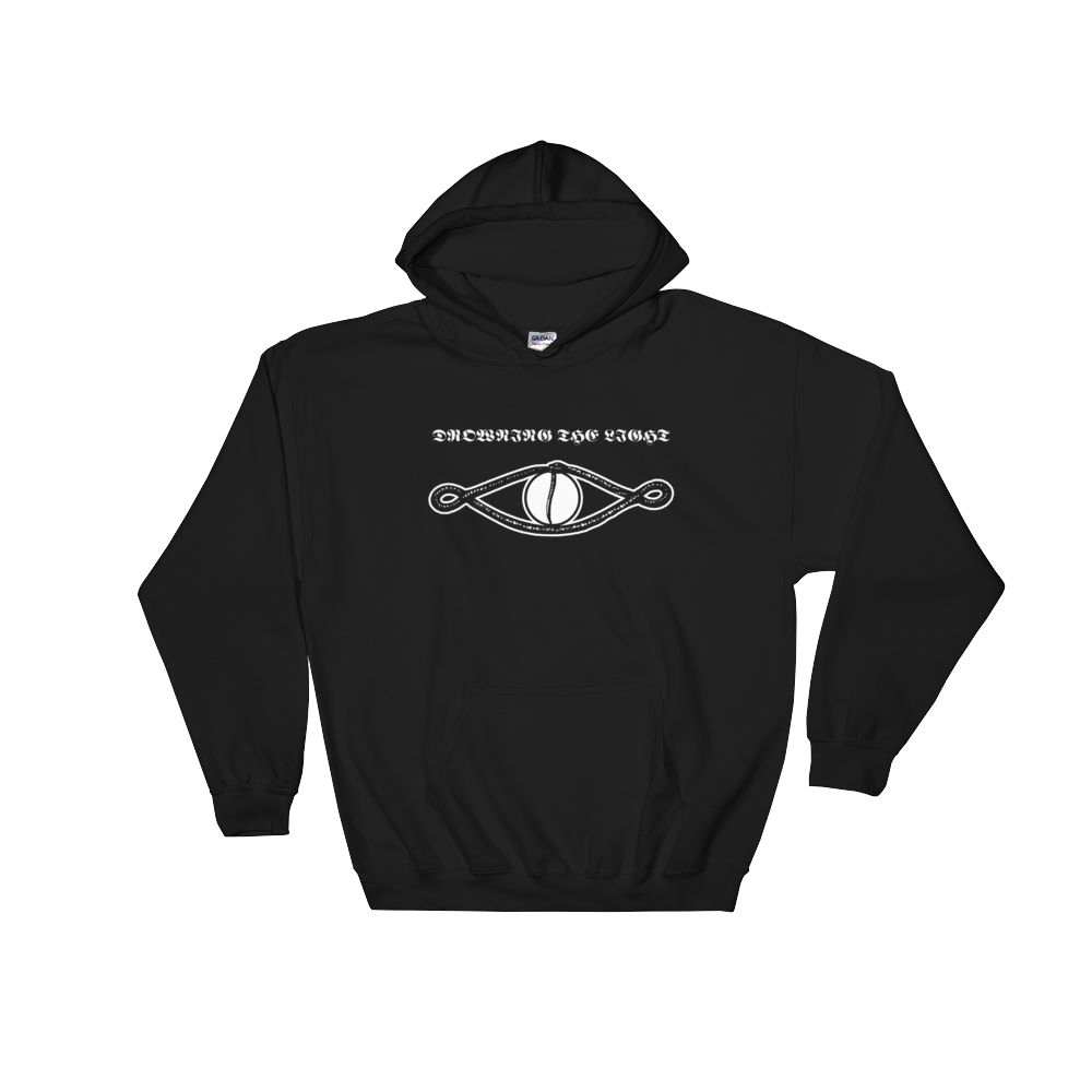 "Image of Drowning the Light - ""Tenth Region of the Night"" hoodie (front & back print)"