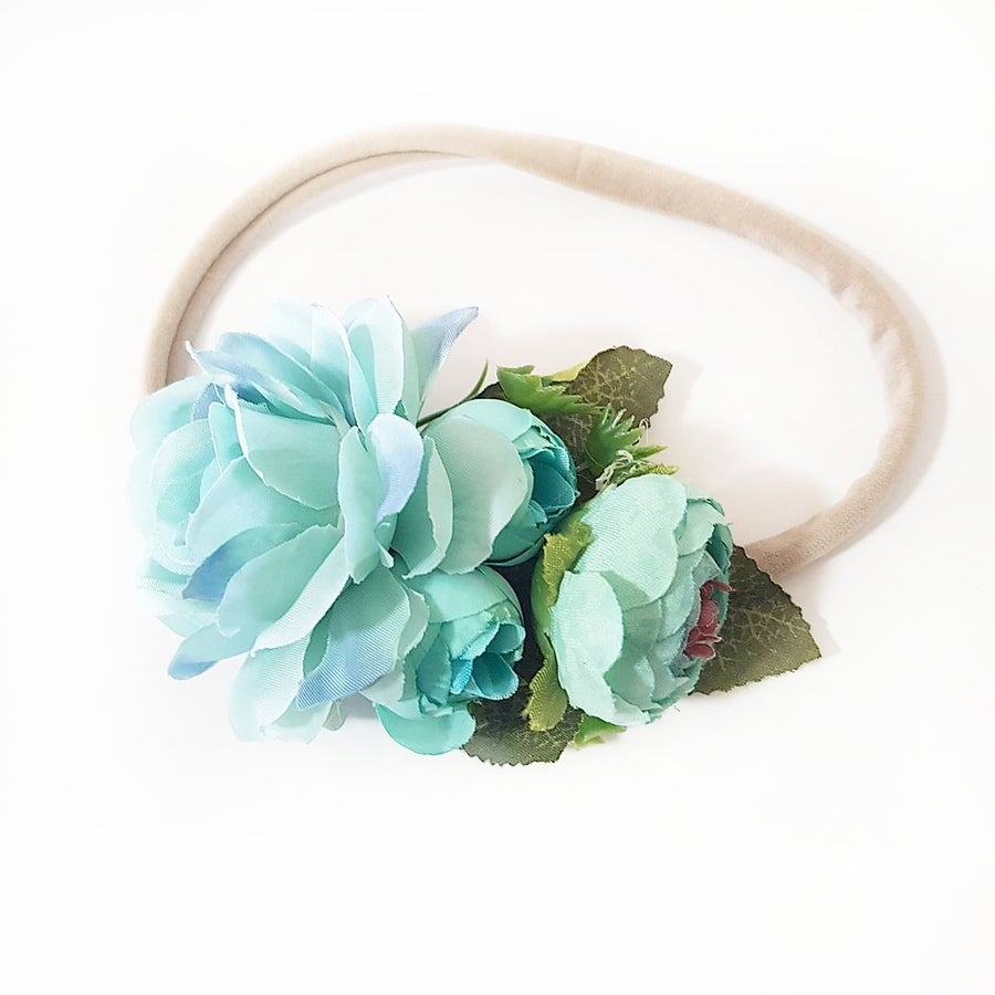 Mickey and grace flower crowns image of isla floral headband blue izmirmasajfo