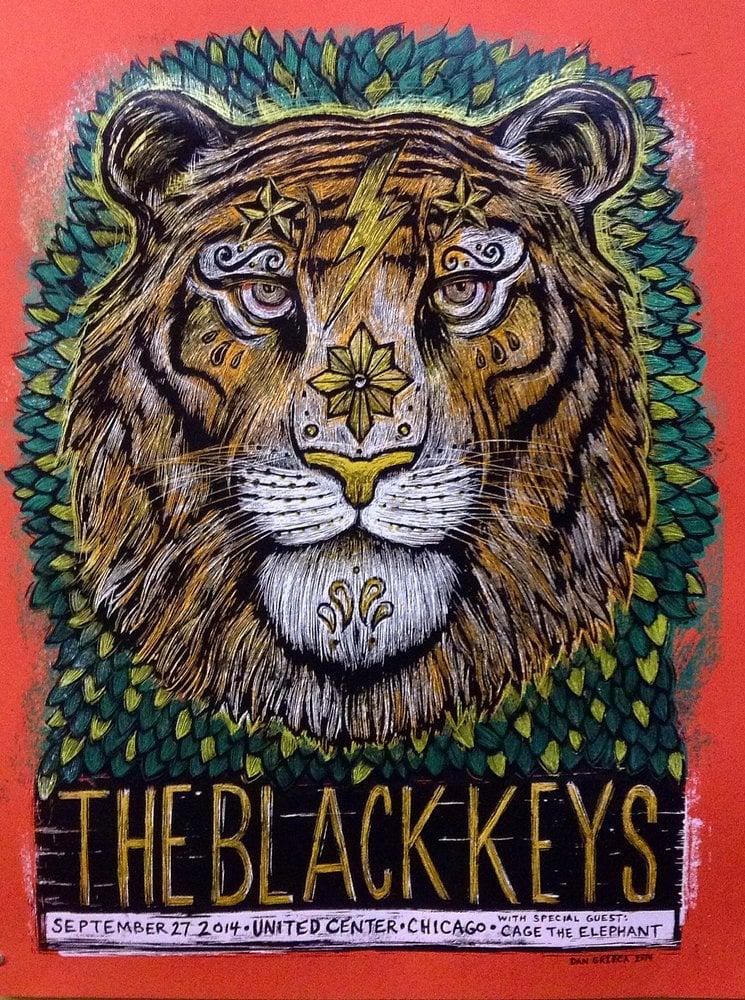 Image of Black Keys United Center 2014