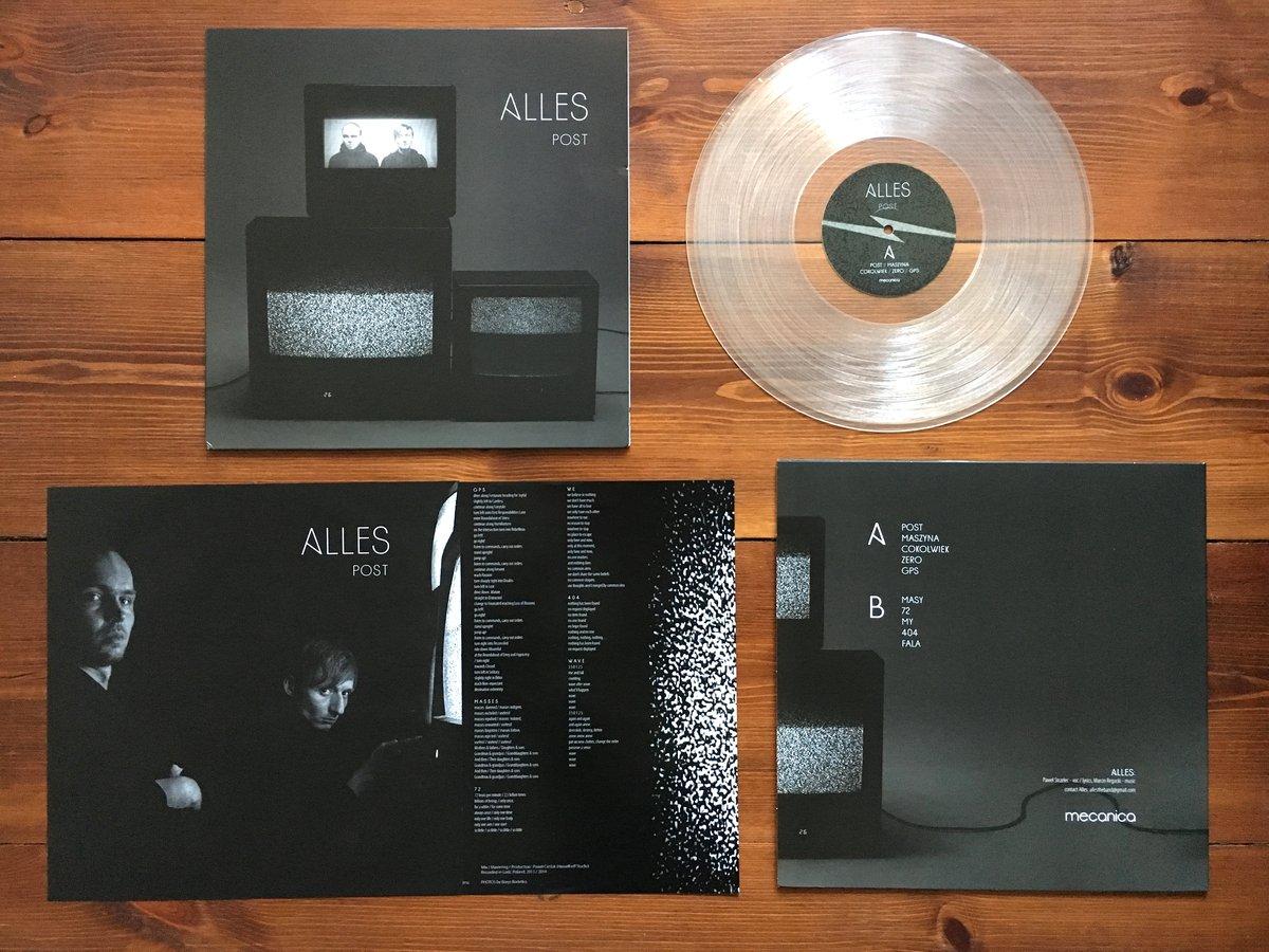 Image of Alles - Post LP