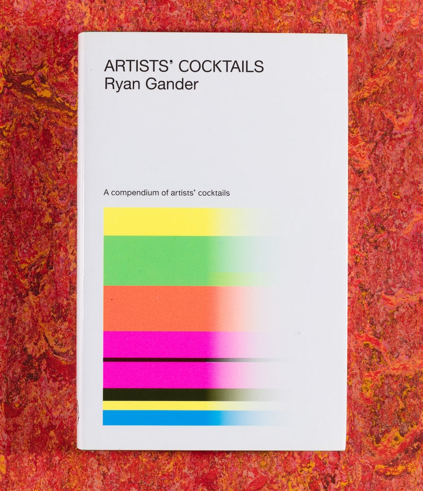 Image of Back in Stock! <br/> Artists' Cocktails <br />— Ryan Gander 2nd Edition