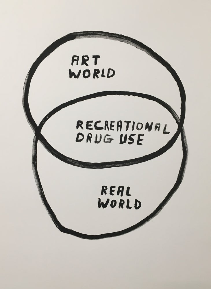 "Image of ""Art World/Real World"" Screenprint"