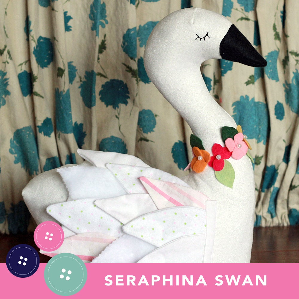Image of NEW!  Seraphina Swan PDF Sewing Pattern