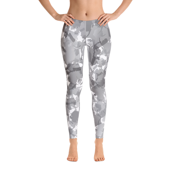Image of Alaska Pattern Leggings - Overcast