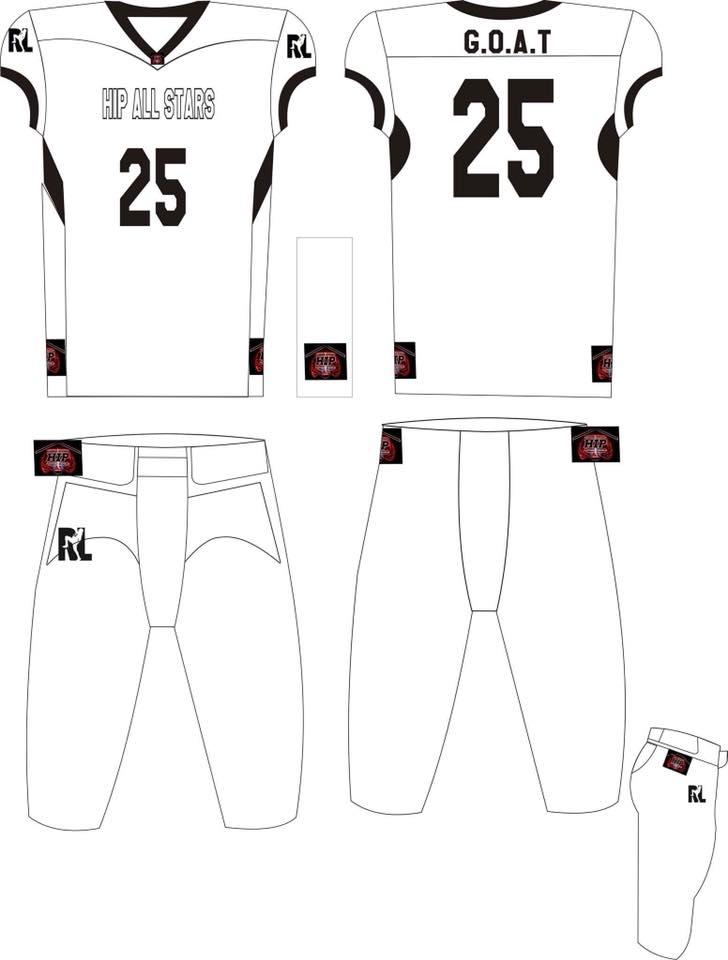 Image of HIP All Star Uniform White