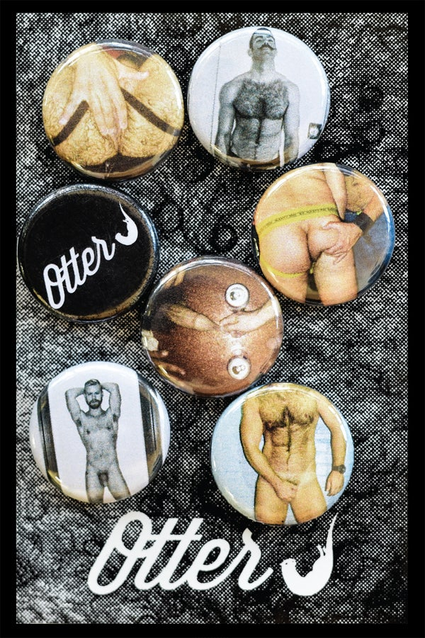 Image of NEW Otterj Button Set