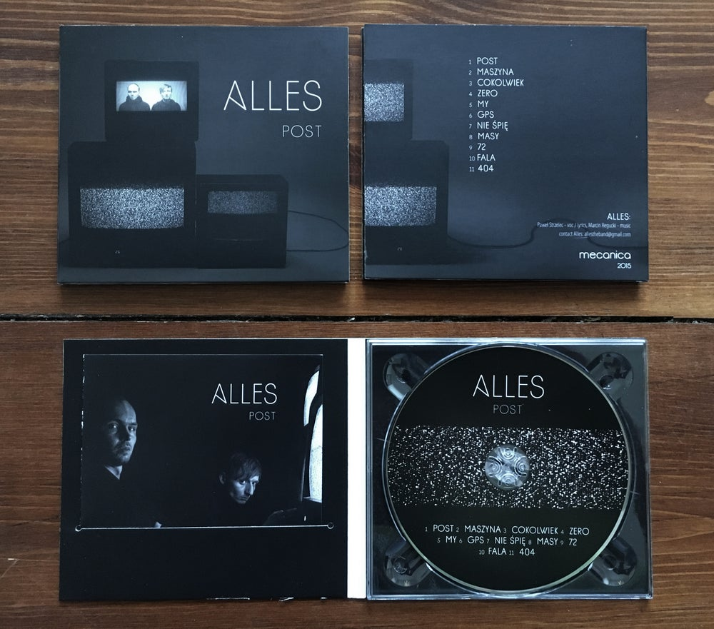 Image of Alles - Post CD
